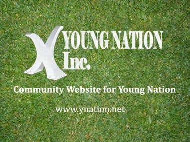 Community Website of Young Nation Incorporation