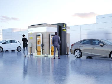 Electric vehicle charging design