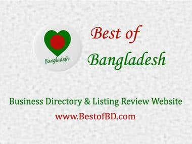 BESTOFBD.COM Business Directory Website