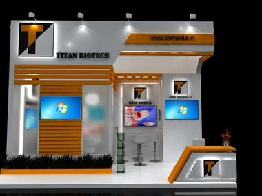 3d exhibition stalls