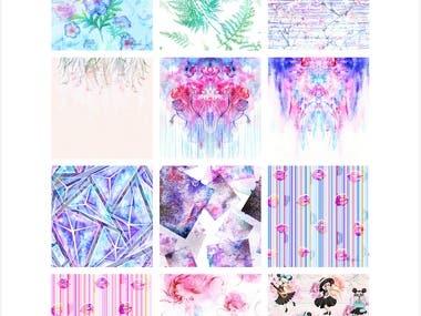 Textile/ Surface pattern design