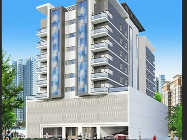 Design of RESIDENTIAL BUILDING with Post Tension By RAM Pro.