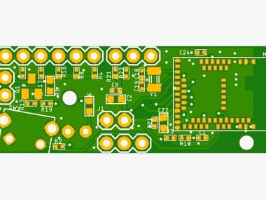 Circuit & PCB Designing BLE Joystick