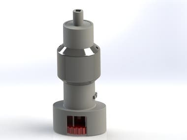 3D Design of Sensor for 3D Printing