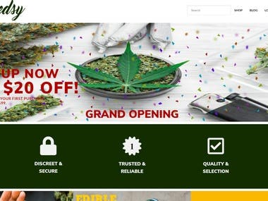 Canada Largest Mail Order Marijuana Store - weedsy.ca