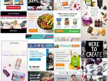 Google Ad, sizmak Ad, Flashtlking ad
