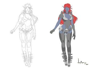 Humanoid Character
