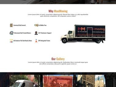 Design a website in a PSD format.