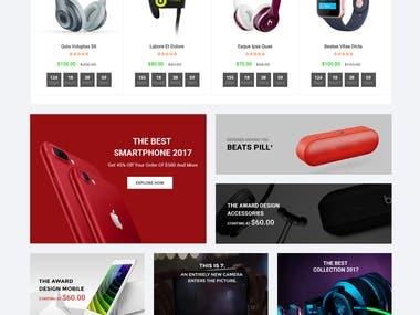 eCommerce affiliate website grieza.com
