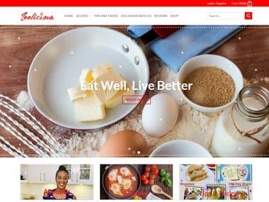 http://zeeliciousfoods.com/ food blog and shop