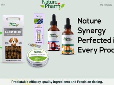 http://www.nature-pharm.com/ ecommerce