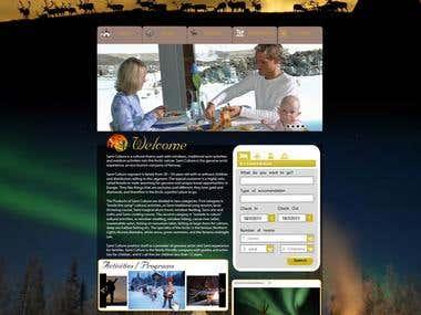 Logo & Website template for SamiCulture.