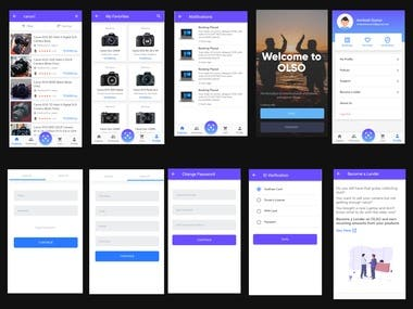 WEB APPLICATION UX/UI
