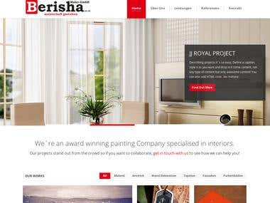 Site Design for Berisha