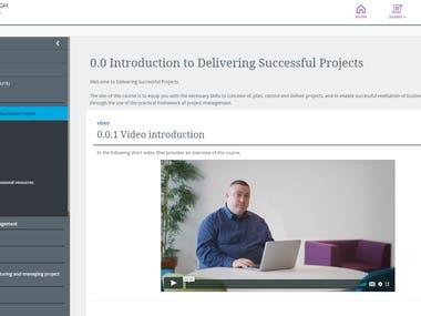 Recent projects - Edinburgh Business School