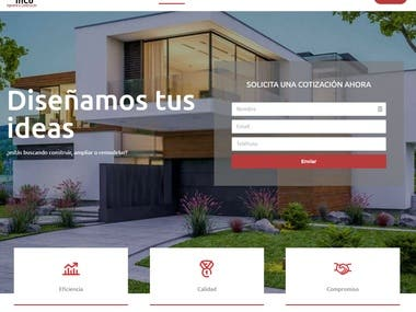 Web corporativa con Portfolio (custom post type)
