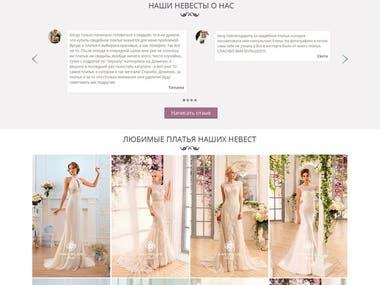 Online store of wedding dresses Dominik