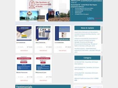 Online Mock test website www.mybookswala.in