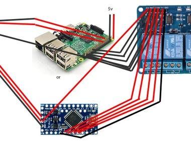 Wiegand interface using Raspberry, Arduino mini, Readers