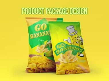 Products Packaging Bag Design