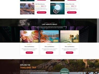 Online booking and rental platform