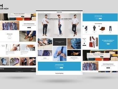 OSFM Ecommerce website