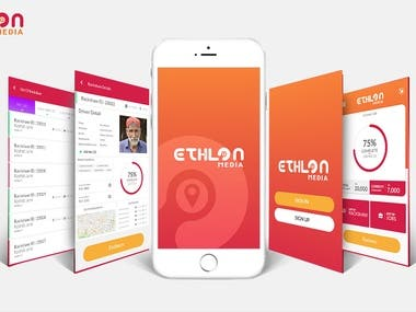 Ethlon Media Mobile App