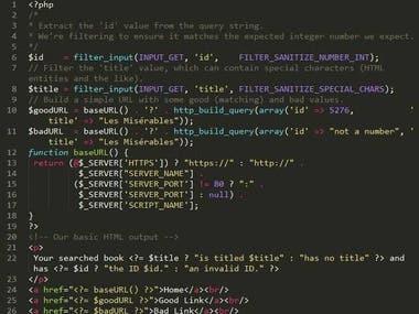 PHP programming