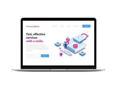 Web Design Presentation Page