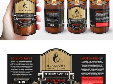 Label and Product Packaging Design