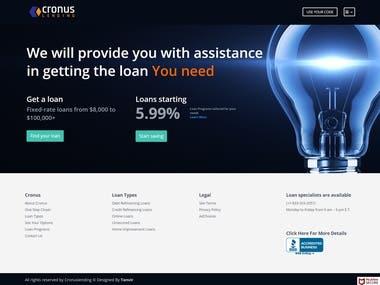 Banking Loan Website