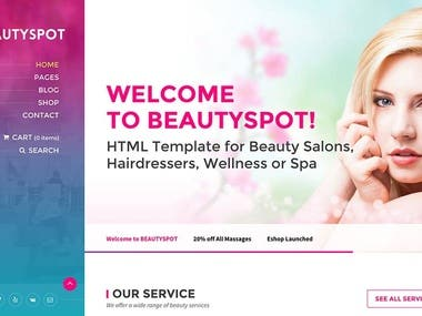 Wordpress BeautySpot