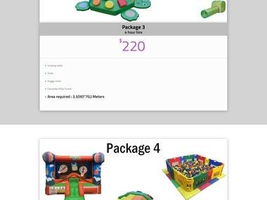 Soft Play Website