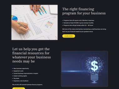 Funding Website