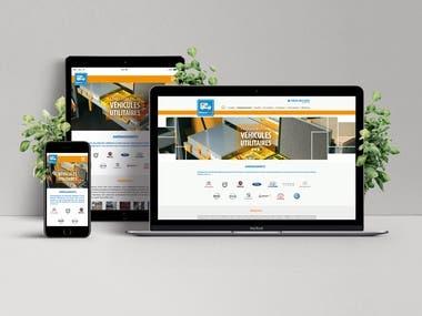 UX/UI Responsive Web design