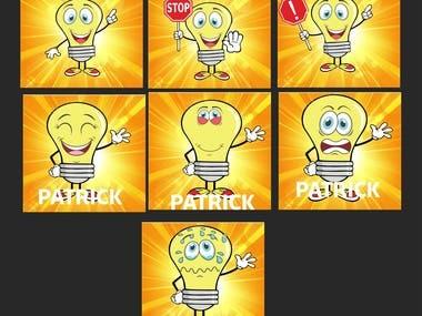 Cartoon Bulb