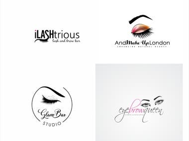 Make Up-Beauty logo design