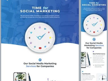 Blue Tick Social - WordPress