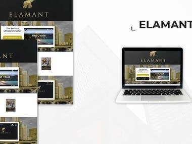 Elamant - Custom Website & Application