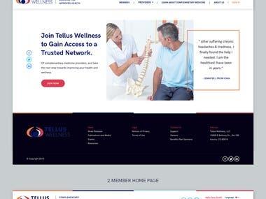 US Wellness - Website Design & Development