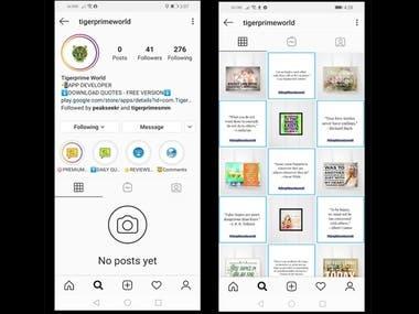 Instagram Account Setup