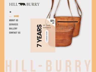 Hill-Burry has a broad collection of leather products.