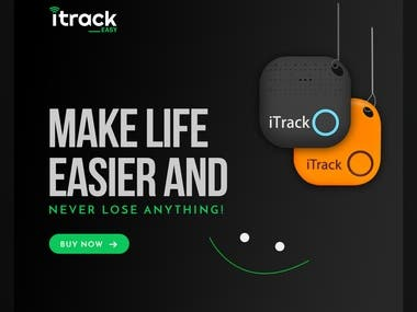 iTrackEasy is a small bluetooth app with device.
