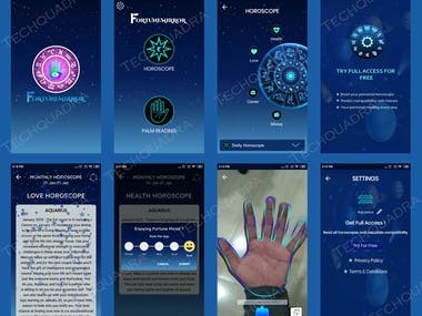 Horoscope & Palm Reading App