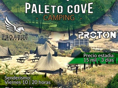cartel promocional de Campamento Paleto Cove