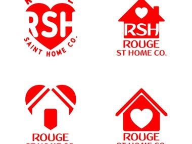 Rouge ST Home & Co Logo