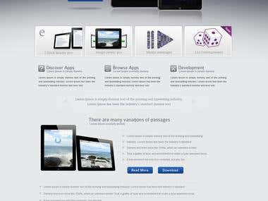 E-Commerce Template PSD To HTML5 With Bootstrap
