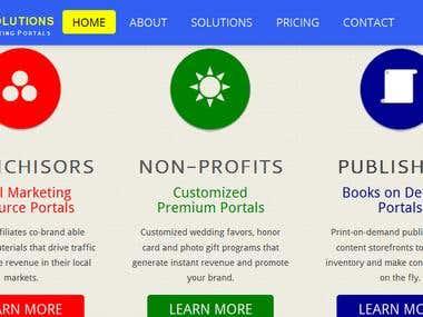 Responsive Hosting Company Website