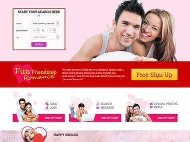 Dating Site python, django