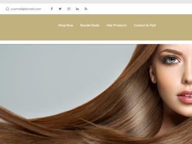 Hairgame : http://needdeveloperz.com/beautydemo/